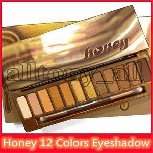 أحدث العسل لوحة ظلال العيون 12 ألوان ظلال العيون Maquillage لوحة عارية 2019 NK العسل عالية الجودة مجموعة لوحة