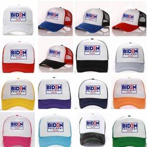 Biden Presidente 2020 cappello Joe Biden Elezione Baseball cap uomini donne Trucker cappelli della protezione della maglia di modo registrabile LJJK2014