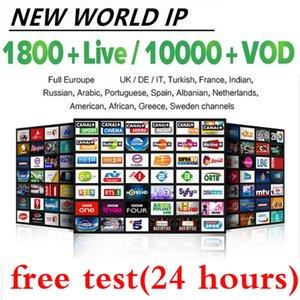 programa de televisión en vivo 10000 + 8000 + VOD para M3U elegante androide TV France EE.UU. Canadá árabe holandés Israel Turquía Países Bajos Australi Alemania España DEMOSTRACIÓN