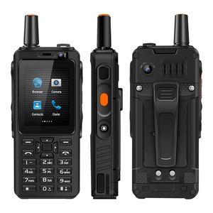 F40 4G walkie talkie Celular FDD / TDD LTE walkie talkie teléfono móvil 5MP cámara trasera Zello Android UNIWA