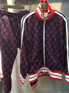 19ee sportswear jacket suit fashion running sportswear Medusa men's sports suit letter printing clothing tracksuit sportsJacket sp