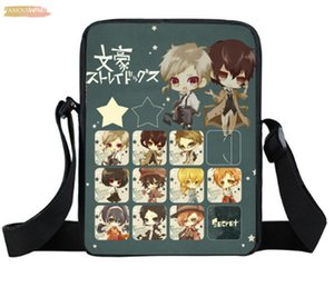 Anime Bungou Stray Dogs Polyester Mini Messenger Bag Boys Girls Satchel Dazai Osamu Chuya Nakahara Shoulder Bags Kids Snacks Toys Bags