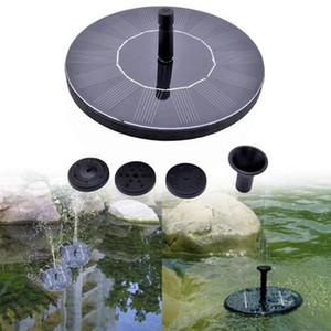 Bomba de agua solar, fuente de la energía solar Jardín de riego de la fuente de agua de riego de riego flotante Systerm Jardín Agua Cascada Y200106
