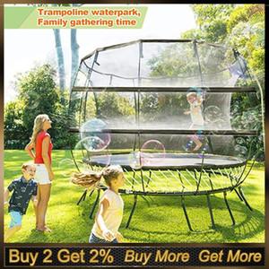 Trampolino acquatico spruzzatore Best Outdoor intrattenimento estivo Trampolini irrigazione giocattoli per i bambini fuori a giocare