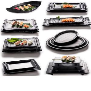 20шт меламиновая посуда столовая тарелка прямоугольная посуда ресторан японской кухни Меламиновые блюда A5 меламиновая посуда тарелка DHL