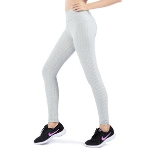 Tight Pants Bubble Slim-Fit Yoga Sports Trousers Bottom Pencil Capris High Elastic Fitness Slim Running Quick Drying Training So