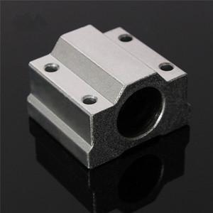 SCS8UU 8 мм Слайдный блок блоки с блокирующей стальной линейный движущийся шарикоподшипник скользящий втулка вал ЧПУ маршрутизатор DIY 3D детали принтера