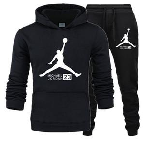 2020 nuevos MensJordan chándalesDiseñadorCárdiganSudaderas Pantalones 2pcs sistemas de la ropa PantalonesDesigneRopa masculina