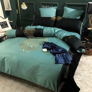 Goddess Fashion Quilt Cover Brief Bedclothes Bed Comforter Case Sets 4 PCS Luxury Bedding Sets With Sheet Pillowcase