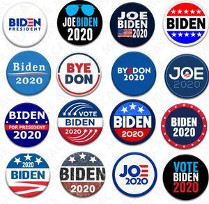 18 Styles Joe Biden Broche 2020 US Presidential Election Biden Badge Tinplate Election Badges BIDEN Vote Broche Cotillons Cadeaux D7204