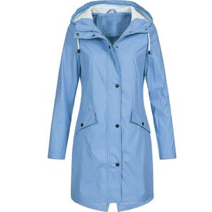 New Women Raincoats Jacket Coats Transition Jackets Sunsets Long Autumn Winter Windbreaker Waterproof sports Hiking Jackets 2020