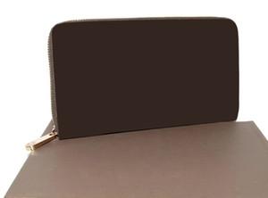 La flor de Brown Mo. ZIPPY ORGANIZADOR M60002 o billetera algodón, el Cliente Designar Producto