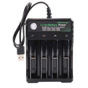 18650 Carregador de Bateria 2 3 4 Slots AC 110V 220V carregamento USB Para 3.7V 4.2V 10440 18650 26650 bateria de lítio recarregável