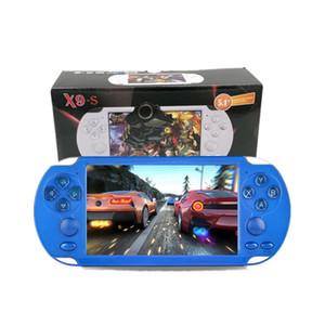 X9S Video Oyun Konsolu X9S X7 Artı 8G ROM 5.1 inç HD Ekran Taşınabilir Oyun Oyuncu MP3 MP4 MP5 Çalar Video Kamera Taşınabilir Oyun Konsolu
