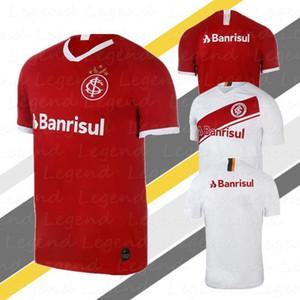 2019 2020 Internacional INICIO roja camiseta de fútbol de la calidad tailandesa 19 20 brasileña Internaciolub camiseta internacional brasileño Santos camisetas deportivas