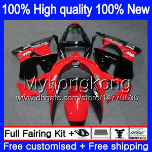 Body For KAWASAKI ZX-6R 6 R ZX-636 ZX600 ZX600CC 1998 1999 336MY.4 600CC ZX636 ZX6R 98 99 ZX 636 ZX 6R 98 99 Full Fairing Stock red