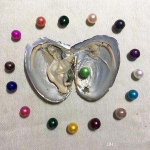 Großhandel 2020 Natürliche 9-12mm Mix Farben Süßwasser Runde Edison Perlmuschel für DIY Herstellung Halskette Bracele Ohrringe Ring Schmuck Geschenk