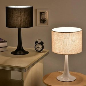 현대 Led 책상 램프 북유럽 조명 디자인 간단한 철 금속 침실 연구 독서 책 빛 검정 흰색 러스트 - I105