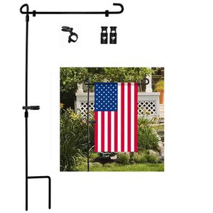 Сад Железного флагштока Открытого Двор Флаги Стенд держатель Banner Кронштейн Заглушка HOT SALE 20190508