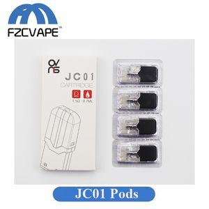 7월 배터리에 대한 두꺼운 석유 및 E 액체에 대한 정통 OVNS JC01 W01 카트리지 0.7ml 중의 세라믹 코일 Vape 카트