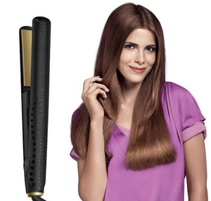 V Gold Max Hair Straightener Classic Professional styler Fast Hair Straightening الحديد تصفيف الشعر أداة مع مربع التجزئة DHL
