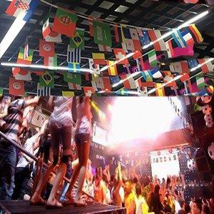 Banner Flag Football Chaîne 21 Russie 32 équipes Drapeaux Nationaux 20 * 30cm Autres Party Supplies événement