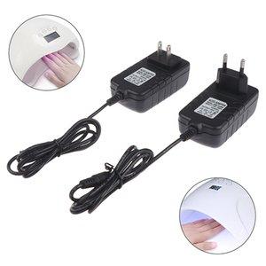 Secador de prego 1pc 24V 2A UE / EUA Power Supply Adapter Para UV lâmpada LED Ferramentas da arte do prego