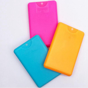 20ml Empty Card Shaped Plastic Spray Perfume Bottles Perfume Atomizer Cosmetic Containers new