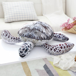 1pc Animal Dolls Lovely Ocean Sea Turtle Plush Toys Soft Tortoise Stuffed Pillow Cushion Best Gifts For Kids child