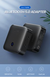 Free shipping Bluetooth 5.0 Receiver Transmitter 4.2 aptX HD for TV Headphone Optical 3.5mm SPDIF Bluetooth AUX Audio Receiver Adapter