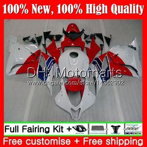 Inyección + Tanque para HONDA CBR600RR 09 CBR 600 RR F5 09 10 11 12 61MT11 CBR 600RR Rojo blanco CBR600 RR 2009 2010 2011 2012 Carenado Carenado