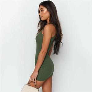 Équipage manches Casual Neck Robes Femmes Vêtements pour femmes Designer moulantes Robes Mode couleur naturelle Skinny Robes