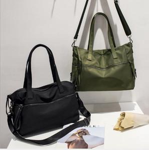 Nuovi uomini donna idrorepellente tessuto di nylon grande sacchetto della femmina messaggero della spalla borsa da viaggio borsa a breve distanza Designer-2019