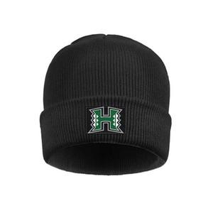 Мода Гавайи Warriors логотип манжета Тобогана Beanie Шляпы марочного черный камуфляж основного дым Gay гордость радуга Золотого Баскетбол Белого США