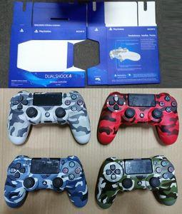 NUOVO camuffamento PS4 senza fili del gioco di Bluetooth Gamepad SHOCK4 controller PlayStation per PS4 Regolatore con l'imballaggio al dettaglio DHL