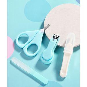 4шт / коробка младенца Infant Safe Nail Clipper Scissor Файловые Healthcare Kits 2020 Nail New Baby Care Уход Медицинские комплекты