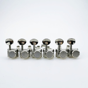 Vintage Nickel Lock String Tuners Electric Guitar Machine Heads Tuners For ST TL Guitar 1 Set Tuning Pegs