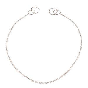 Super Long Link Chain 56cm 22'' Dangle Stainless Steel As Earring Necklace Punk Hip Hop Men Women Fashion