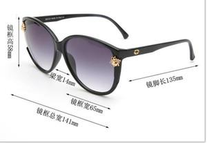 Occhiali da sole eleganti da donna di fascia alta da 2019 con occhiali da sole ovali resistenti alle uv e lenti protettive anti UV
