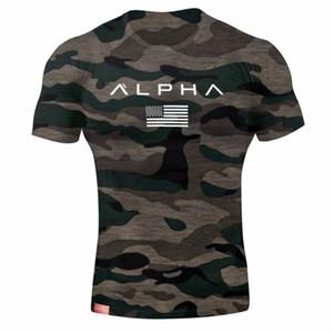 Армия мужские t рубашка мужские дизайнерские футболки мужчины звезда Loose хлопка t-рубашка o-образным вырезом размер Альфа-Америка короткий рукав футболки