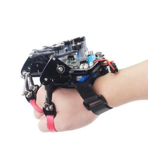 Gant open source / gant mécanique portable / contrôle somatosensoriel de l'exosquelette