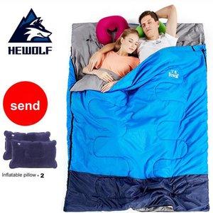 Saco de Dormir Camping Adulto Outdoor Hotel Anti-sujo Thicken Duplo Aqueça viagem Interiores Viagens portátil Belt Sleep (190 + 30) * 140cm