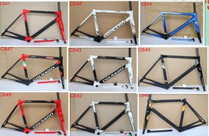 Hot sale T1100 ud Matte-Glossy Black Colnago C64 carbon road frameset With 6 colors for selection