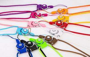Mais barato Charme Strap Pescoço Cordão Destacável Rotatable Charme Corda para Celular MP3 MP4 ID Colorido Frete Grátis por LLFA