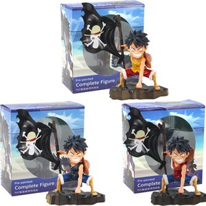 Bayrak Şekil Modeli Oyuncaklar ile 3 tarzı 18 cm Yeni Anime One Piece Monkey D. Luffy