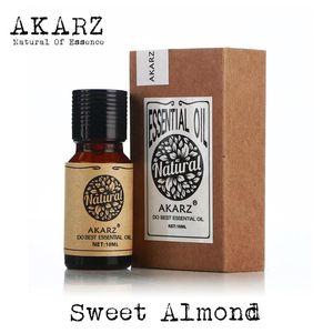Dropshipping Sweet Almond Oil Famous Brand AKARZ Natural Aromatherapy 10ml