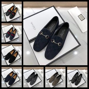 19FS 2020 luxurious shoes women design flat Genuine Leather Loafers Casual Square Toe Soft comfortable white shoes female Size 38-46