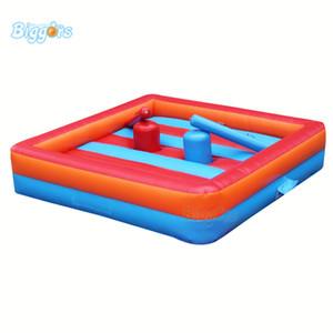Flotador Justas Duelling sistema Juegos inflables del deporte Gladiador justa Sticks Juegos para Niños
