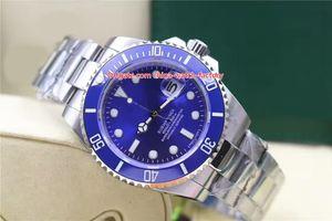 Reloj de alta calidad vendedor caliente 40mm 116619 116619LB Fecha Azul Bisel de cerámica 316L Acero Asia 2813 Movimiento Reloj automático para hombre Relojes
