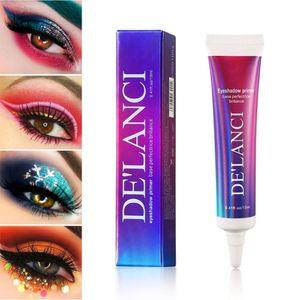 Base de sombra de ojos Base mate Color duradero Brillo Crema de pegamento para sombra de ojos Mejora el control de aceite de maquillaje de ojos duradero